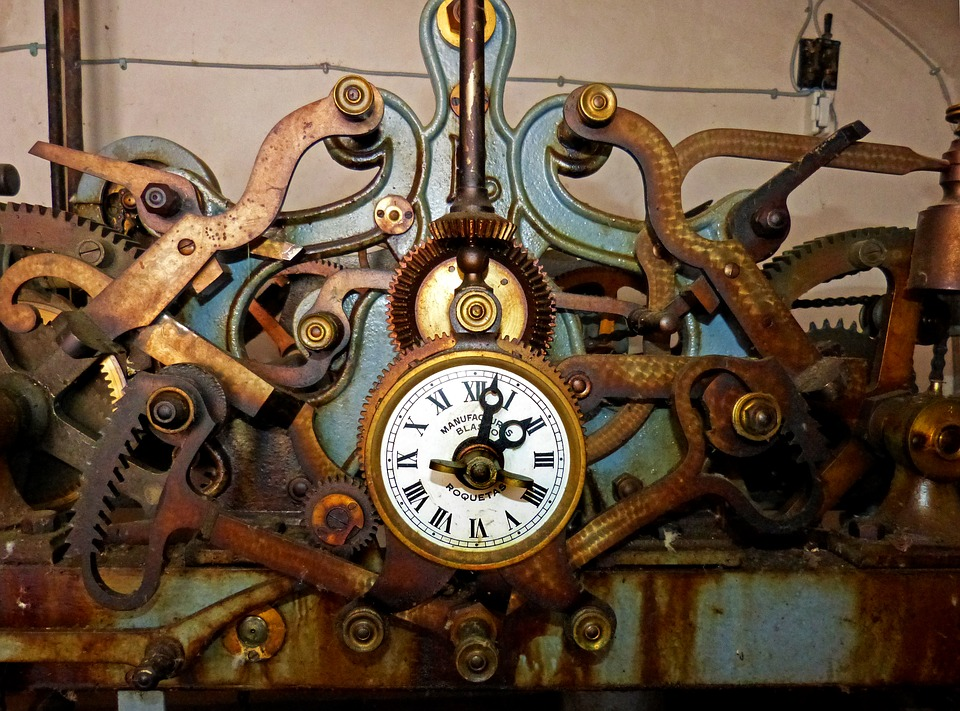Oversized Chellis Wall Clock